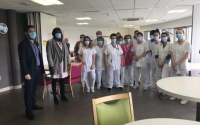 Rencontre avec les hospitaliers de Figeac