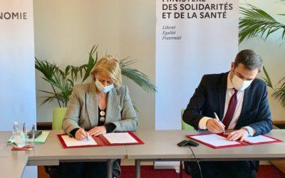 Invitation de Brigitte Bourguignon, Ministre de l'Autonomie