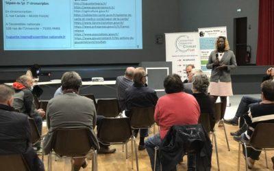 Saint-Céré : Huguette Tiegna organise une réunion publique