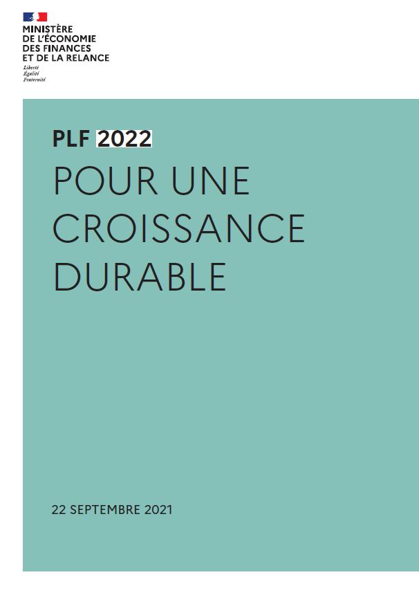 Projet de loi de finances pour 2022